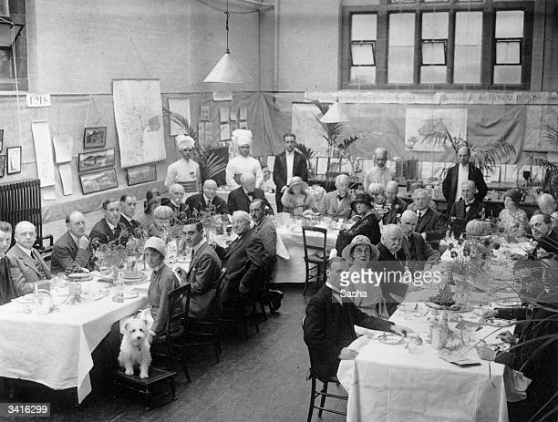 The 'Mosquito Day' Luncheon given by Ronald Ross at the Ross Institute and Hospital for Tropical Diseases, Putney, London, to celebrate the discovery...