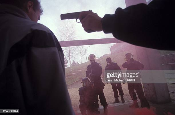 20th Birthday of the National Gendarmerie Intervention Group In France On May 27 1994 Training to free hostages