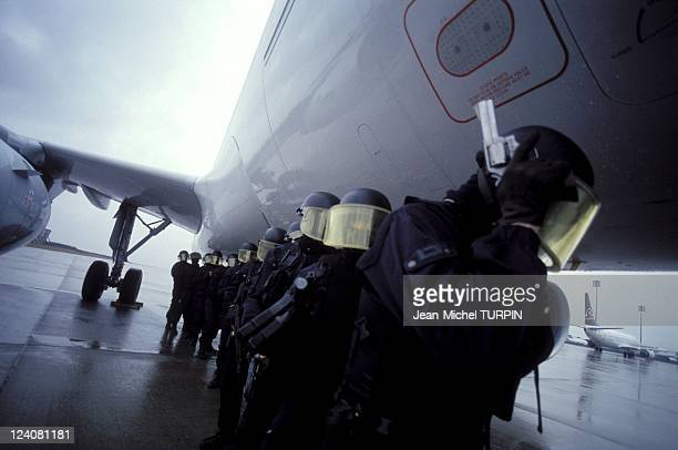 20th Birthday of the National Gendarmerie Intervention Group In France On May 27 1994 Intervention on an Airbus