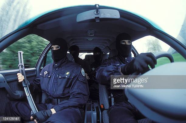 20th Birthday of the National Gendarmerie Intervention Group In France On May 27 1994 Prepared to intervene