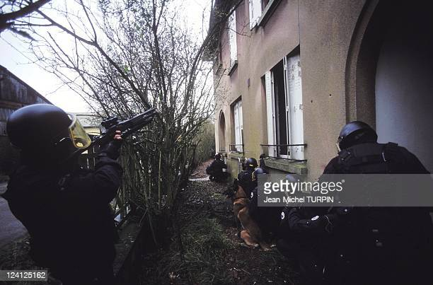 20th Birthday of the National Gendarmerie Intervention Group In France On May 27 1994 Taking place before intervention