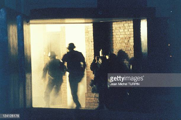 20th Birthday of the National Gendarmerie Intervention Group In France On May 27 1994 Arrest of a drug dealer raiding the flat