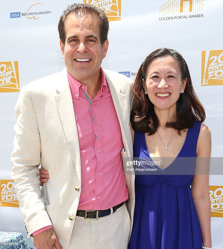 20th Century Fox Feature Post-Production President Ted Gagliano (L) and Dr. Linda Liau attend the 2nd annual Golden Portal Awards benefiting The UCLA Brain Tumor Program on June 23, 2013 in Beverly Hills, California.