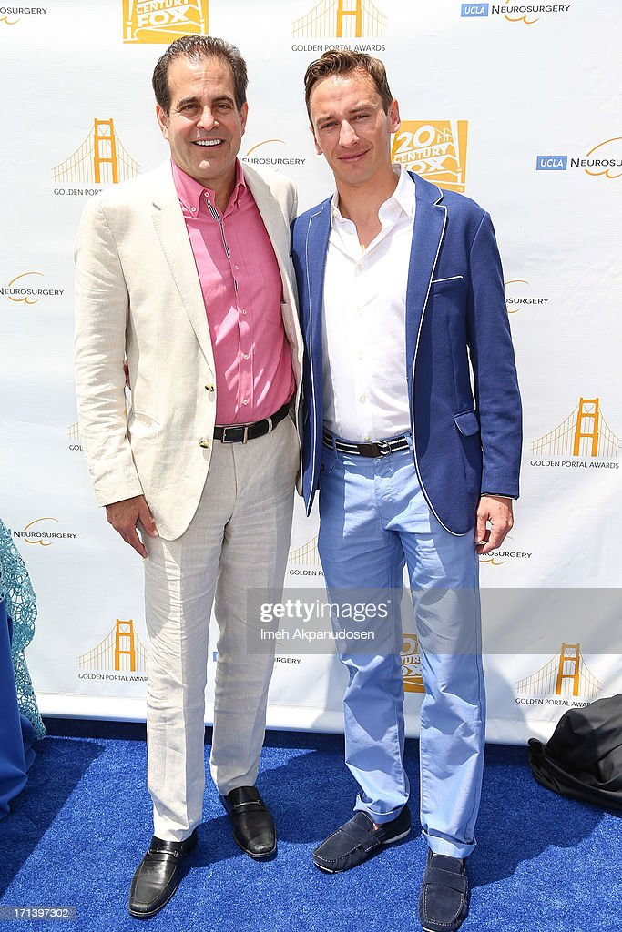 20th Century Fox Feature Post-Production President Ted Gagliano (L) and Loic Bailly attend the 2nd annual Golden Portal Awards benefiting The UCLA Brain Tumor Program on June 23, 2013 in Beverly Hills, California.