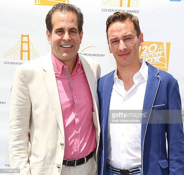 20th Century Fox Feature PostProduction President Ted Gagliano and Loic Bailly attend the 2nd annual Golden Portal Awards benefiting The UCLA Brain...