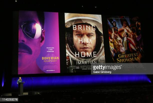 20th Century Fox Film Vice Chairman 20th Century Fox President of Production Emma Watts talks about the movies Bohemian Rhapsody The Martian and The...