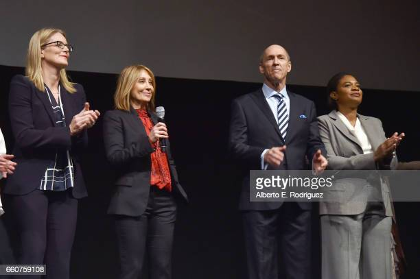 20th Century Fox President of Production Emma Watts 20th Century Fox Chairman and CEO Stacey Snider 20th Century Fox President of Domestic...