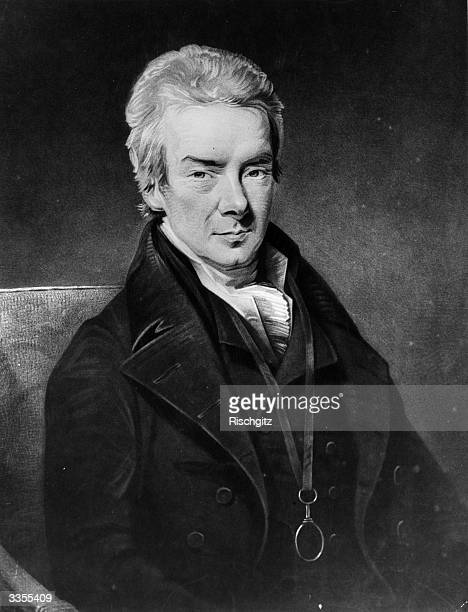 British statesman William Wilberforce who worked for the abolition of slavery, secured legislation prohibiting the trade and was a founder of the...