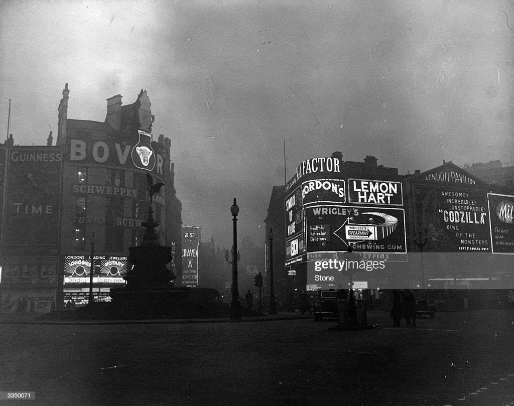 London Fog : Nachrichtenfoto