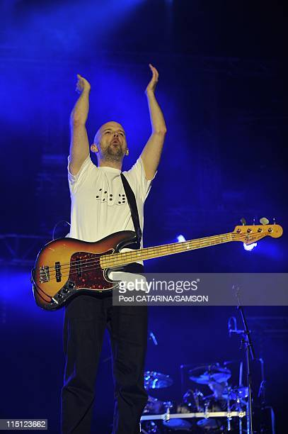 20th Eurockeennes de Belfort Music Festival United States artist Moby performing live in Belfort France on July 06 2008