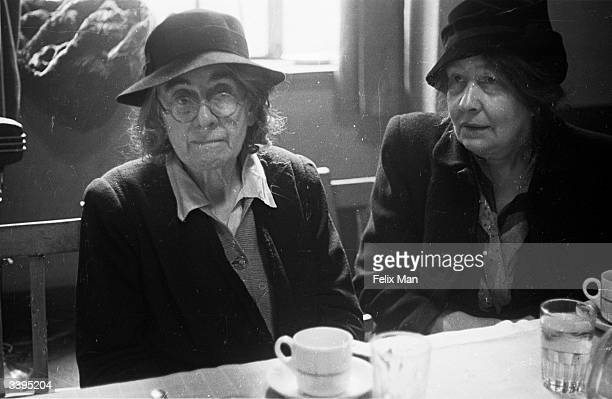 Sylvia Pankhurst daughter of Suffrage leader and pioneer Mrs Pankhurst and sister of Christabel celebrating the Silver Jubilee of Women's Suffrage in...