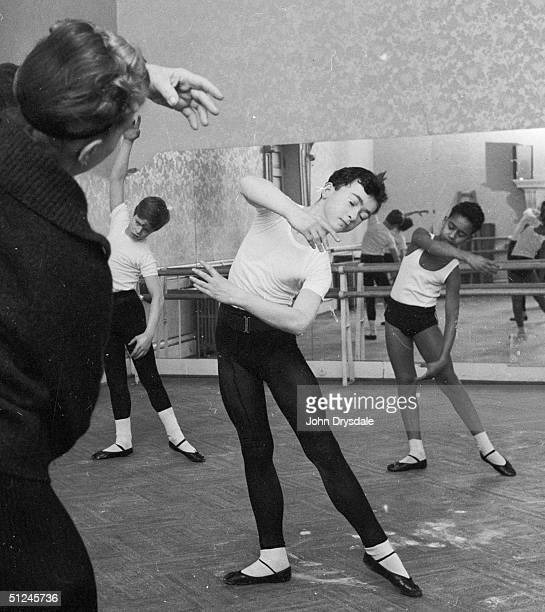 20th February 1964 A group of young ballet dancers attend a class at the Royal Ballet School at White Lodge Richmond Park Only 20 out of the school's...