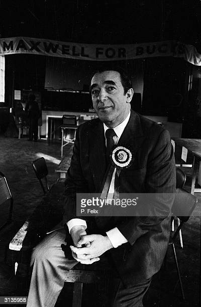 Robert Maxwell Czechborn publisher politician and media tycoon stands as the Labour party candidate for Buckinghamshire