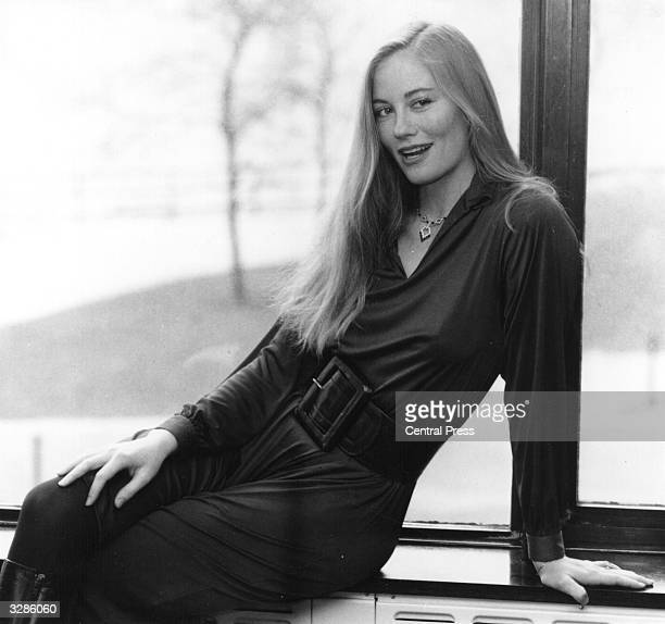 American actress Cybill Shepherd who appeared in the film 'Silver Bears' with Michael Caine