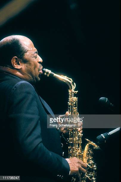 20th JANUARY; Saxophonist Archie Shepp playing at the BIMhuis in Amsterdam, Netherlands on 20th January 1991.