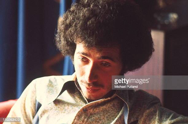 Record executive David Geffen posed at the Inn On The Park hotel in London on 20th July 1972