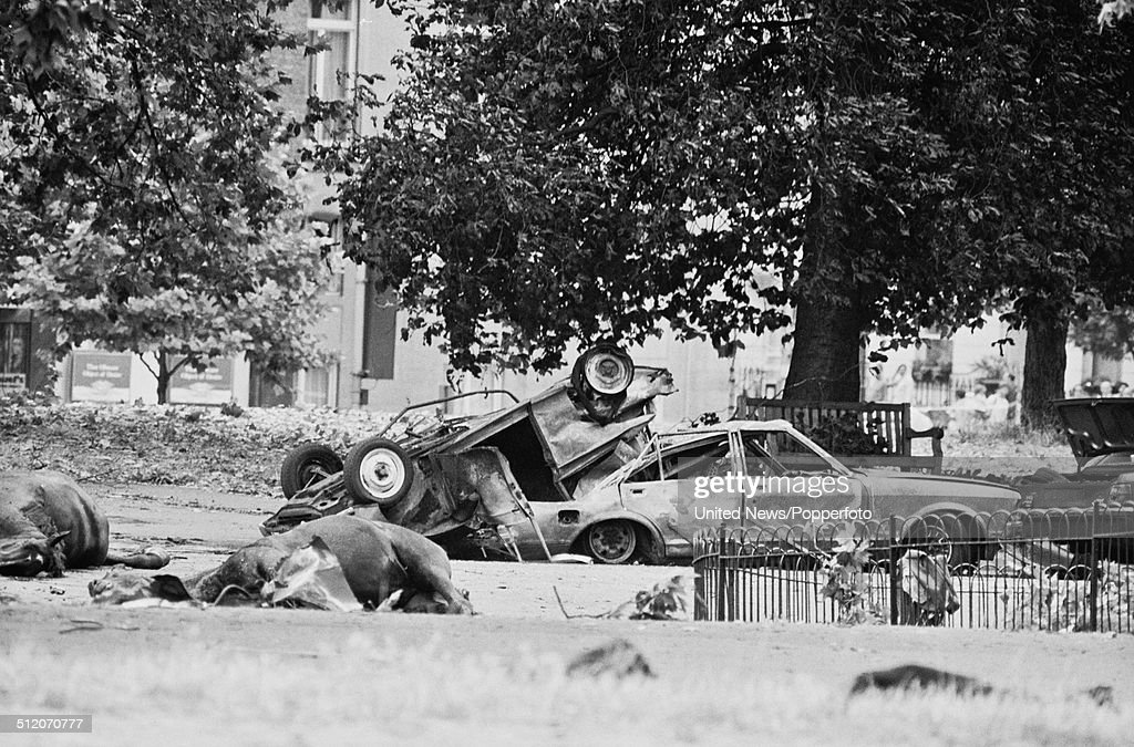Hyde Park Bombing Pictures Getty Images