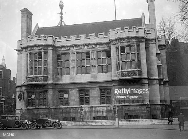 Astor House a gothic mansion on Victoria Embankment London built for Lord Astor to act as his estate office at a cost of 250000