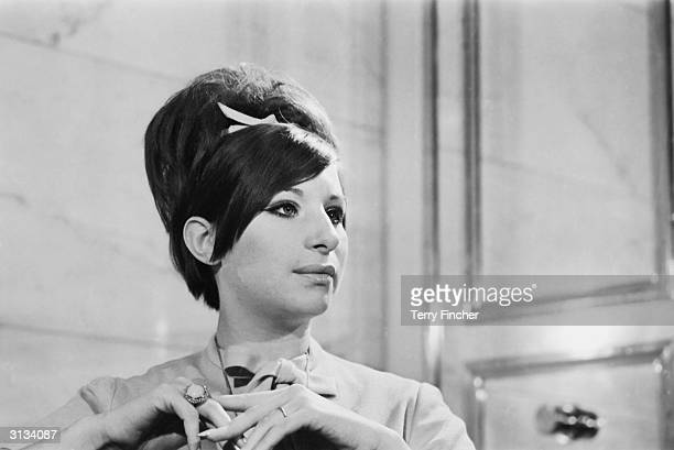 American singer and actress Barbra Streisand.
