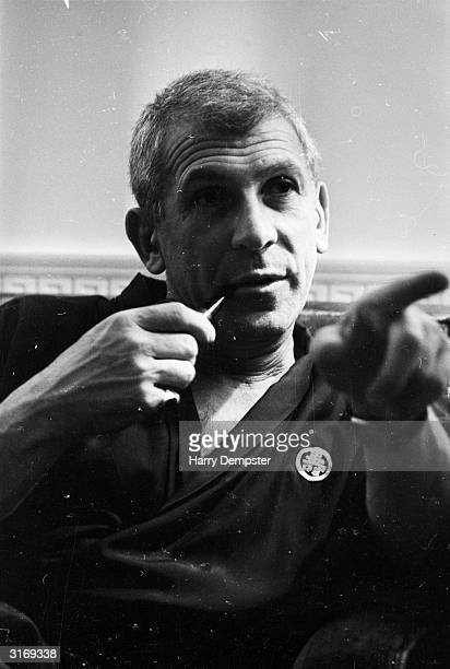 American film director Richard Brooks shortly after completing a screen adaptation of Truman Capote's book 'In Cold Blood'