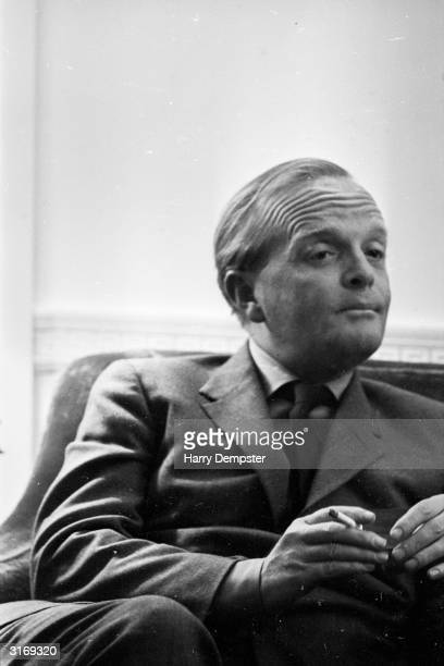 American writer Truman Capote author of 'In Cold Blood' and 'Breakfast at Tiffany's'