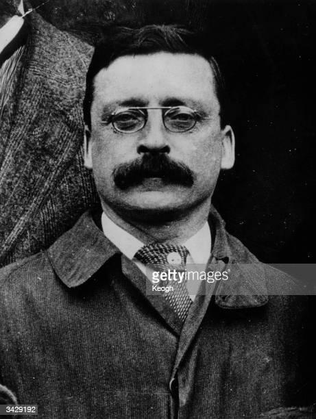 Sinn Fein founder and editor of 'The United Irishman' Arthur Griffith