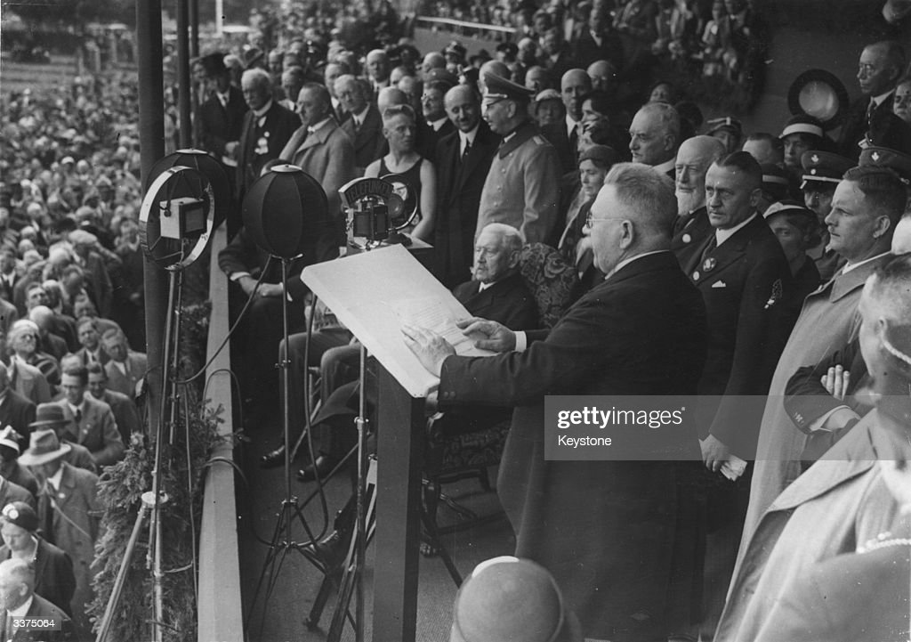 Von Hindenburg : News Photo