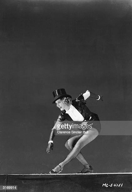 Legendary tap dancer Eleanor Powell plays nightclub hoofer Nora Paige in the musical 'Born To Dance' directed by Roy Del Ruth