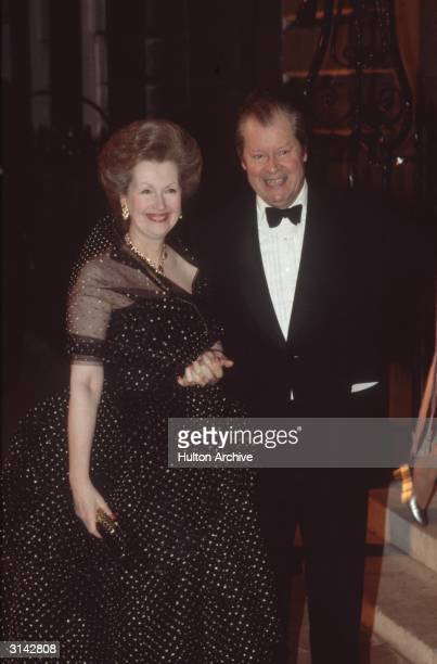 The Earl and Countess Spencer arriving at Spencer House for the 21st birthday of the Earl's son Viscount Charles Althorp The Earl is the father of...