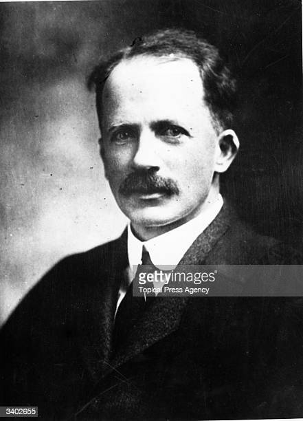 British physiologist John James Rickard Macleod winner of the Nobel Prize in 1923 after discovering insulin along with Frederick Grant Banting and...