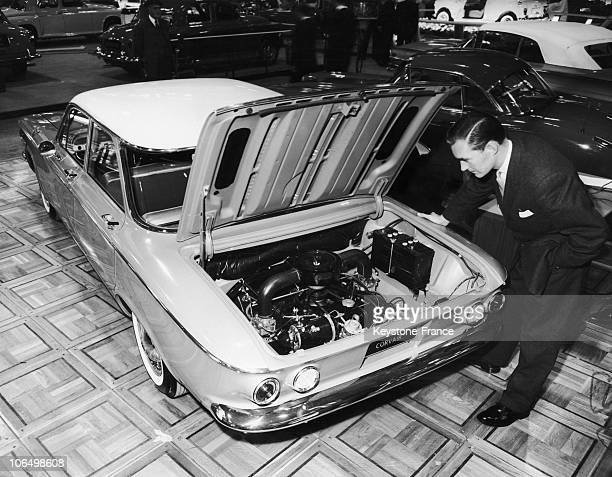 20Th Of October 1959 London Preview Of The Motor Show New Chevrolet Corvair