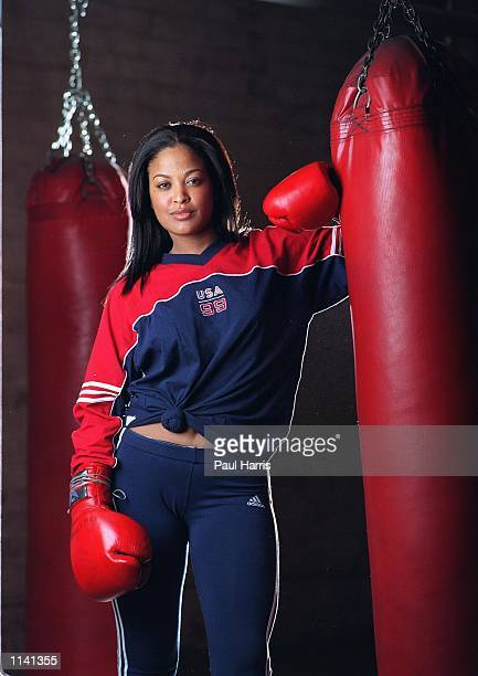 Los Angeles Laila Ali 21 years old daughter of Muhammad Ali and his third wife model Veronica Porche who plans to enter female boxing her first fight...