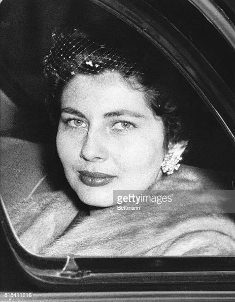 2/17/1955London England This afternoon the Shah and Queen Soraya of Persia went to Clarence House with Her Majesty Elizabeth the Queen Mother Later...