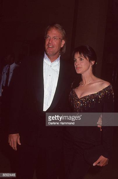 American television personality and musician John Tesh and his wife American actor Connie Sellecca attend the Vistas for Blind Children Benefit...