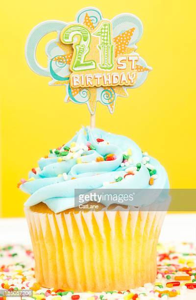 21st Birthday Cupcake