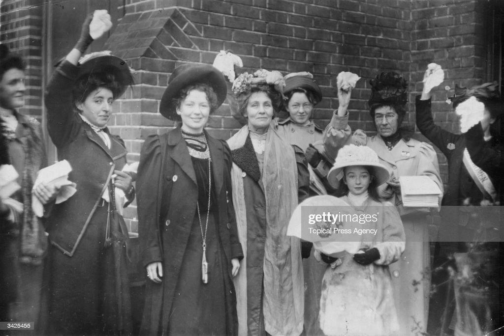 Emmeline Pankhurst : News Photo