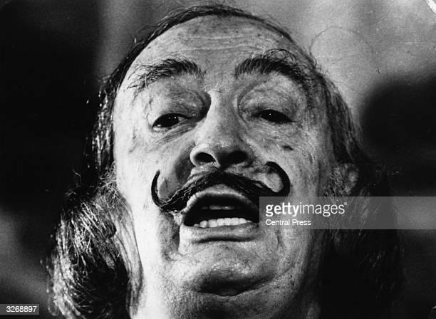 Spanish surrealist artist Salvador Dali