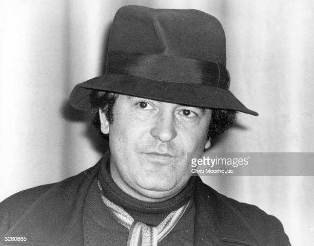 Italian film director Bernardo Bertolucci