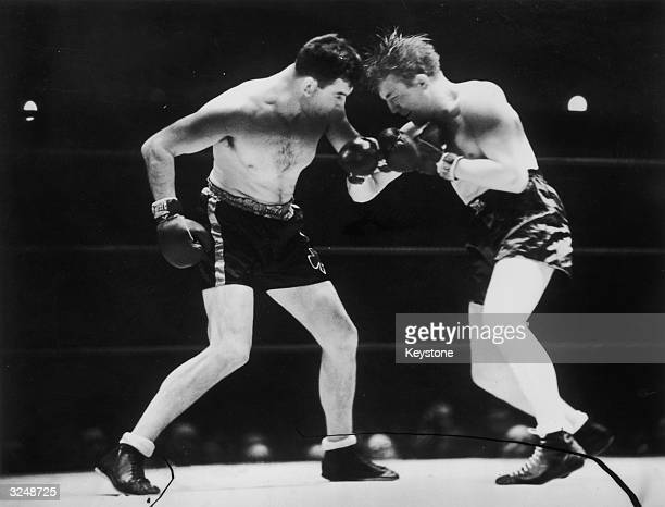 American Jim Braddock in his last ever fight takes on British Heavyweight Champion Tommy Farr in New York Braddock won the match in the tenth round