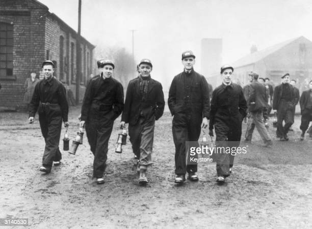 Bevin Boys at the Prince of Wales Colliery Pontefract
