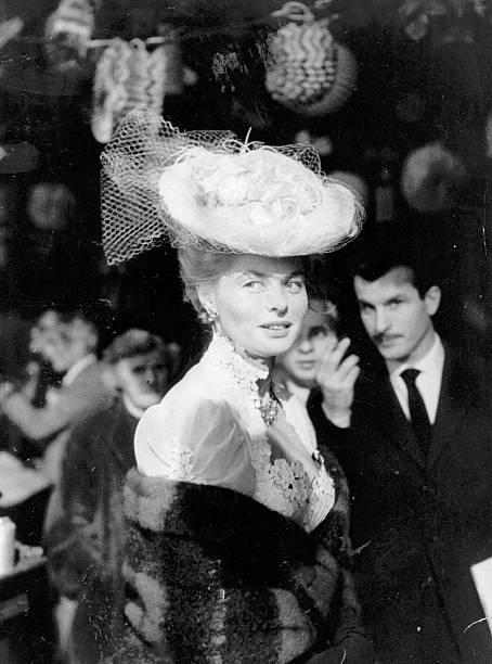 Bergman In Hat