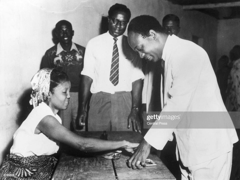 Nkrumah Votes : News Photo