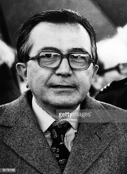 Giulio Andreotti the Italian Prime Minister