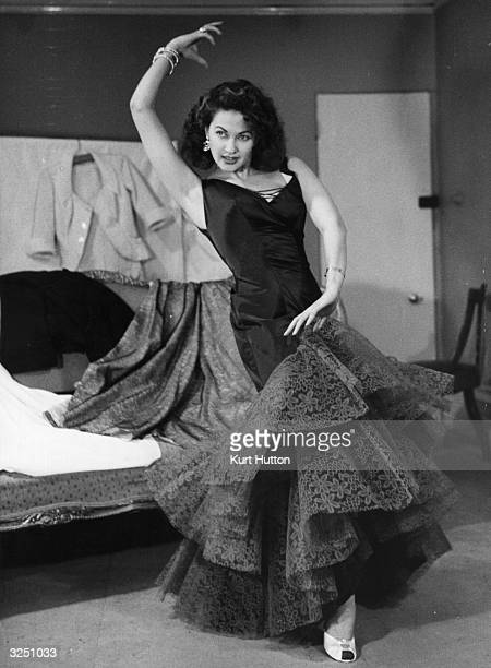 Yvonne De Carlo the stage name of Peggy Middleton the Canadian leading lady who during the 40's starred in many of Hollywood's most outrageous...