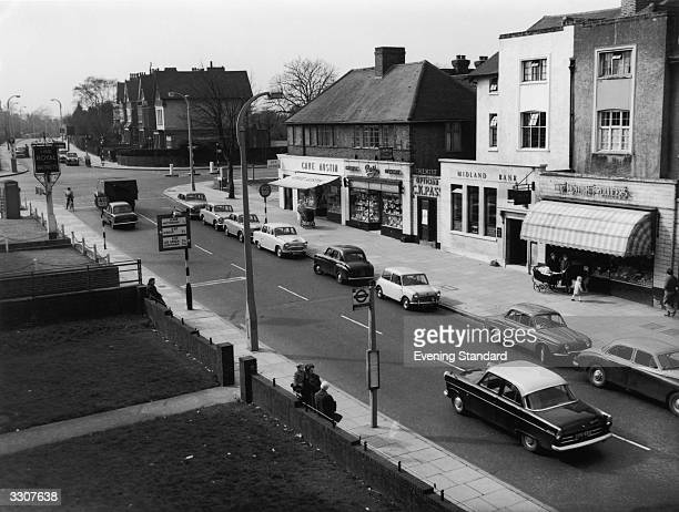 A street in Chingford Essex