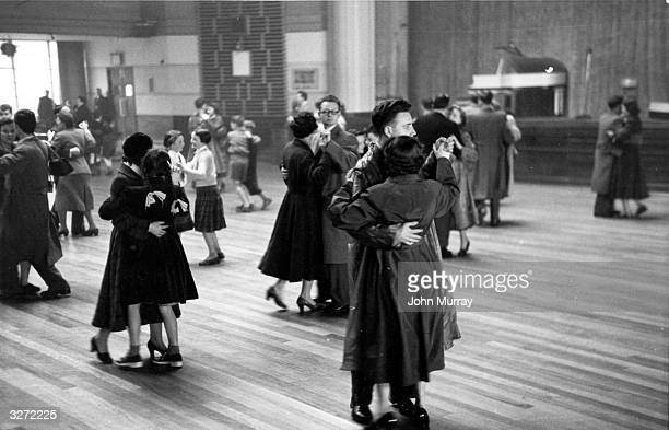 Glaswegians on holiday at the Clyde resort of Rothesay enjoy ballroom dancing on the newly sprung dance floor at the Pavilion Ballrooms The late...