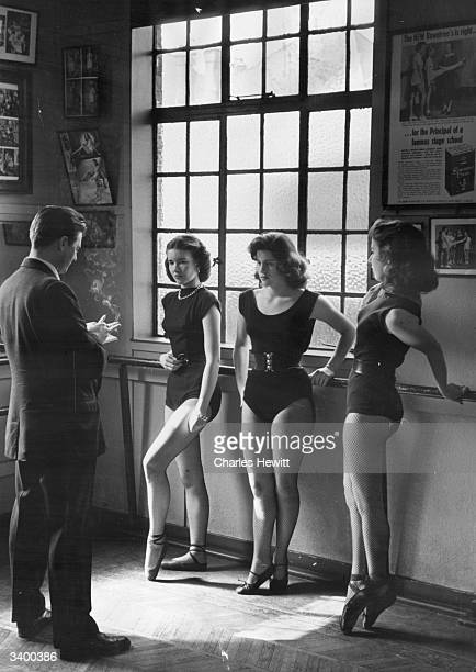 Rehearsals are interrupted as three show girls some of the two million men and women that will be voting for the first time in the forthcoming...