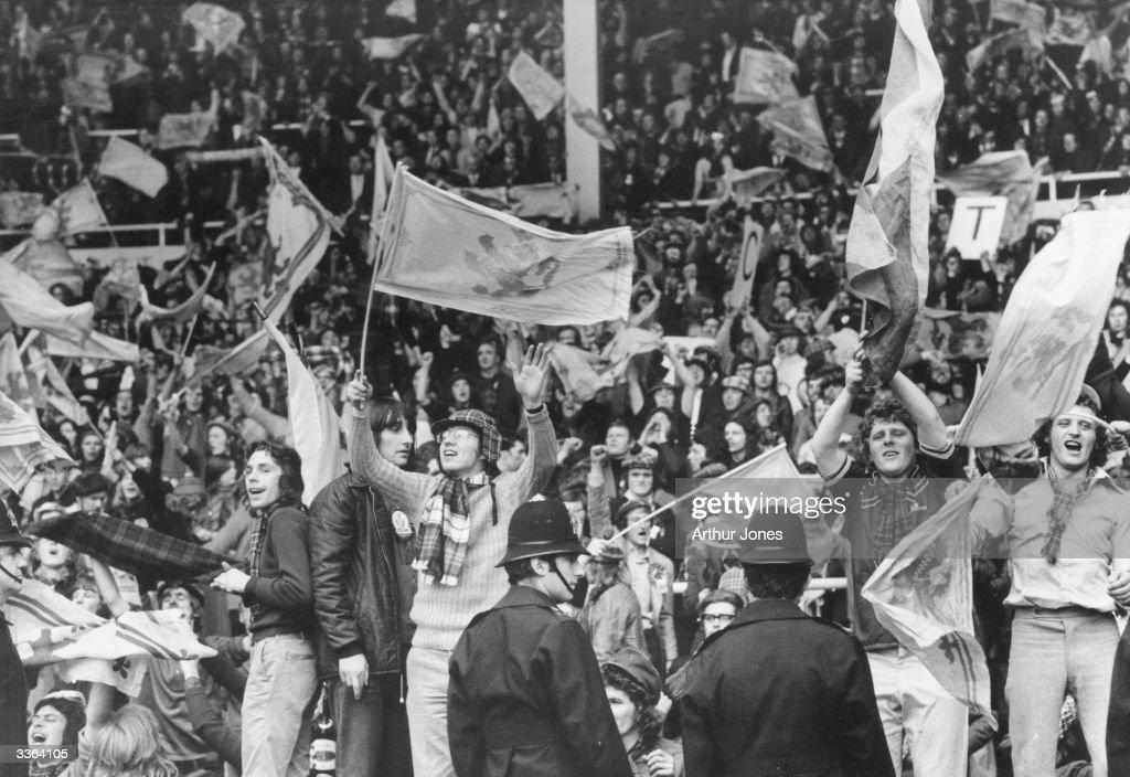Scots At Wembley : News Photo