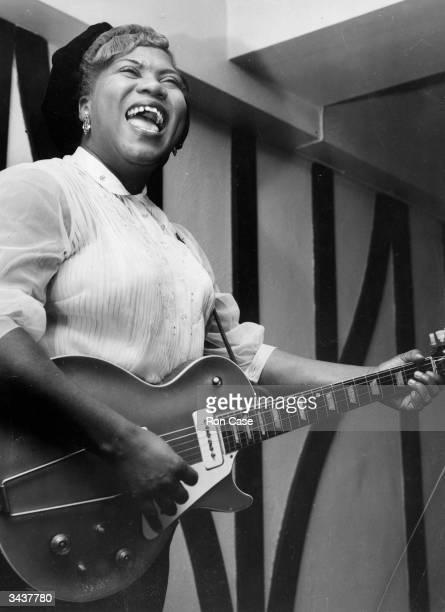 American gospel singer and guitarist Sister Rosetta Tharpe
