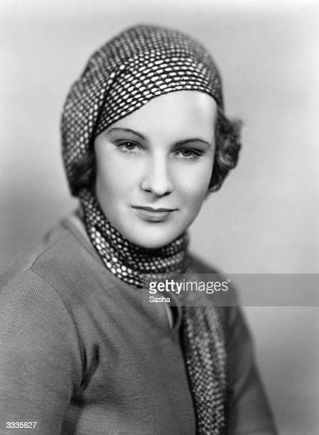 American actress Mollie Ellis, who is playing one of the leading parts in the American production of 'Cynara', soon to open in New York.